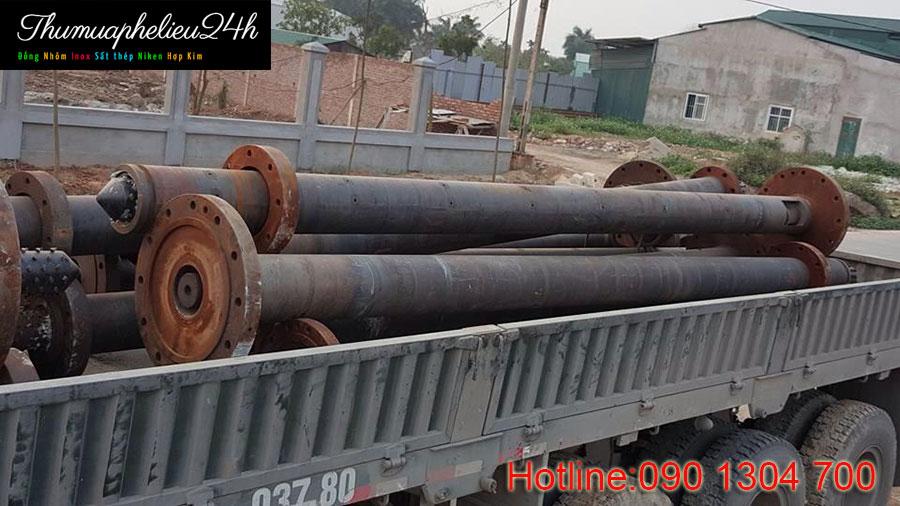 Thu mua sắt thép phế liệu tại công trình nhà máy Hòa An Bình Dương