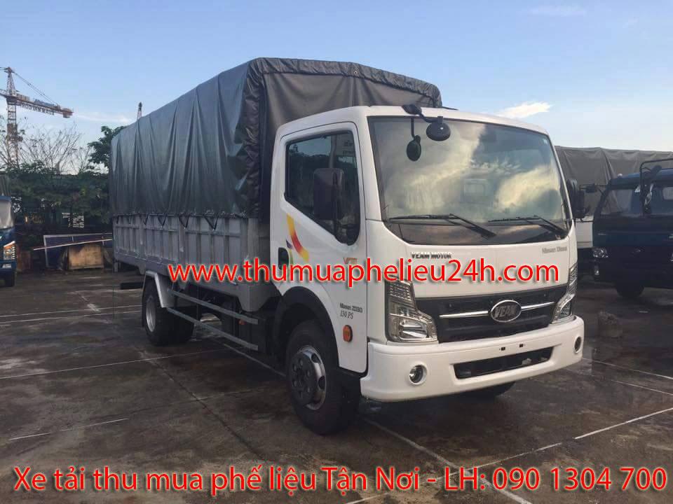 Xe tải thu mua phế liệu, xe tai thu mua phe lieu